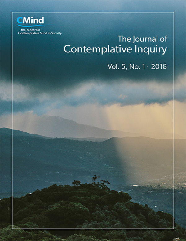 The Journal of Contemplative Inquiry Vol. 5, No. 1, 2018